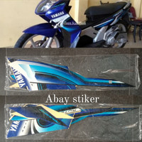 Striping Stiker & list body Yamaha Nouvo Z 20072008 biru