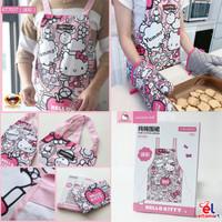 ELtamart Chefmade Pure Cotton Apron Celemek Kain Kitty KT7037 KT7056 - KT7037