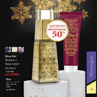 Diva set Perfume+Body Lotion/My Way