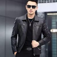 jaket kulit domba super asli garut - jaket kulit pria