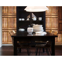 W79 Wallpaper Dinding Motif kayu - Wallpaper Sticker Motif Wood