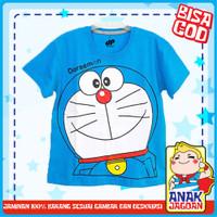 Baju anak laki-laki / Kaos anak laki-laki motif Doraemon 1-10 thn - 1-2 tahun