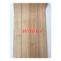 W66 Wallpaper Dinding Motif kayu - Wallpaper Sticker Motif Wood