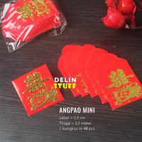 Angpao Koin Yenci / Angpao Mini Koin Yuan / Koin Yen Ci isi 45 pcs