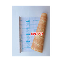 W70 Wallpaper Dinding Motif kayu - Wallpaper Sticker Motif Wood