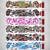 Sticker / Striping Variasi Honda Beat Street -3