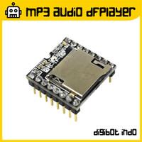 DFPlayer MP3 Audio Player Module - TF Card U-Disk Voice Decoder Board