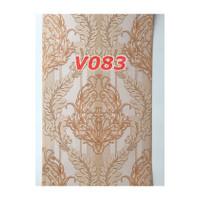 V83 Wallpaper Dinding - Wallpaper Sticker Vintage Biru