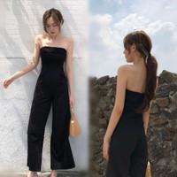 Baju Jumpsuit Panjang Wanita Murah Sexy Korean Style Terbaru Kekinian