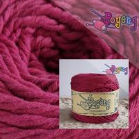 Benang Rajut Sweet Cotton Polos Poyeng SCP15 (Maroon)