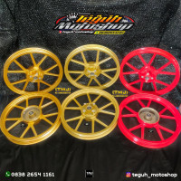 Velg GP WHELL VROSI Vrossi NOZ GP WHELL WHEEL WHITE PUTIH Dan BLACK