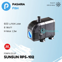 SUNSUN RPS102 / RPS 102 Pompa Celup Kolam Ikan / Aquarium / Akuarium
