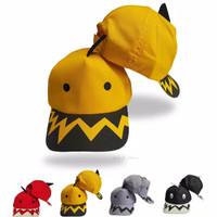 Topi baby shark anak usia 3-10 tahun - Kuning