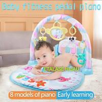 Baby Play Gym Piano Musical Aneka Warna