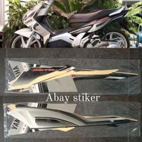 Striping Stiker & list body Yamaha Nouvo Z 2007 2008 silver