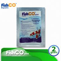 Bakteri Penjernih Air Kolam Ikan FISHCO POND 2 gram