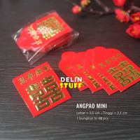 Angpao Koin Yen / Angpao Mini Koin Yuan / Koin Yenci isi 45 pcs