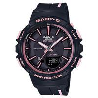 Jam Tangan Wanita Merk Baby-G Type Bgs-100 Black Pink Ori BM Free Box