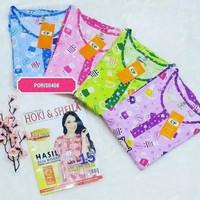 COD Grosir Baju Tidur Piyama Babydoll Wanita 3/4 Jumbo Hoki & Sheila