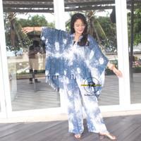Setelan Cardigan Kulot Akar Bali