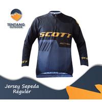Jersey Sepeda  Baju Kaos  Lengan Panjang Roadbike XC B073 ONE