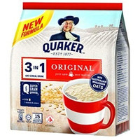 QUAKER 3 in 1 OAT CEREAL DRINK 15 sachets