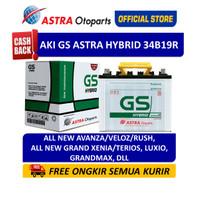 Aki GS ASTRA Hybrid 34B19R Mobil Avanza, Xenia, Rush, Terios, dll