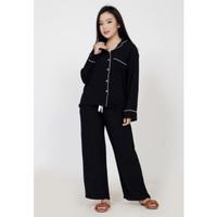 Piyama wanita muslimah fit XL ZAHRA SIGNATURE L/S piyama katun rayon