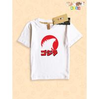 Kaos Baju anak Kids Godzilla Godzila jepang