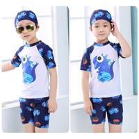 Baju Renang Anak Laki-Laki SwimSuit Motif SuperHero