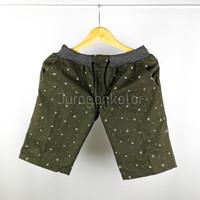 Celana Pendek Pria Rib Motif Surfing Casual Distro Premium - Triagle, M