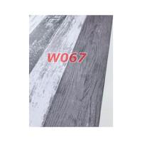 W67 Wallpaper Dinding Motif kayu - Wallpaper Sticker Motif Wood