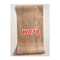 W78 Wallpaper Dinding Motif kayu - Wallpaper Sticker Motif Wood