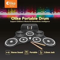 Olike Portable Drum - Classic White