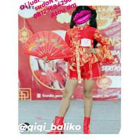 baju fashion show imlek