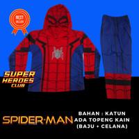 Baju Kostum Anak Superhero Spiderman Homecoming Avengers