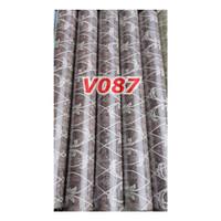 V87 Wallpaper Dinding - Wallpaper Sticker Vintage Biru