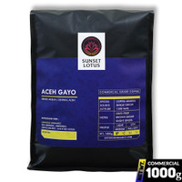 Kopi Arabika Aceh Gayo 1 Kg | Commercial Grade - Medium, Biji Kopi