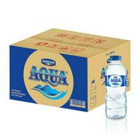 Aqua Air Mineral Botol Kecil Mini 330ml 300 ml per Dus Karton