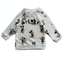 Jaket Anak / H*M Baby Sweatshirt Mickey Mouse