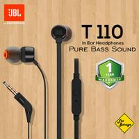 Headset JBL T110 Headphone Earphone with Microphone Garansi Resmi IMS