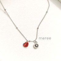Meree - Lova Bell Anklet Gelang Kaki Wanita Sterling Silver Anti Karat
