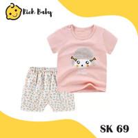 SK69 / Stelan Bayi Perempuan / Setelan Anak Perempuan / Fashion Anak