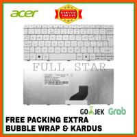 Keyboard Acer Aspire One Happy 2 N55 N57C NAV51 NAV70 PAV70 533 WHITE