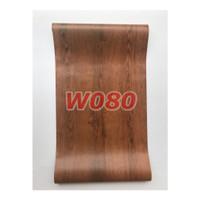 W80 Wallpaper Dinding Motif kayu - Wallpaper Sticker Motif Wood