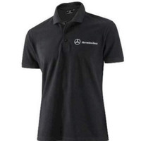 Kaos Polo Shirt Baju Kerah Distro MERCY MERCEDES BENZ polos custom