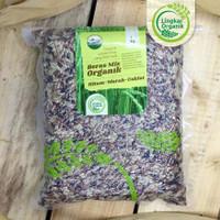 Beras Mix WG Lingkar Organik Kemasan Vakum 1kg