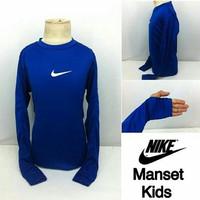 Kaos Manset Baju Baselayer Kids Anak Kecil olahraga laki perempuan