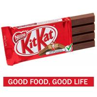 KITKAT 4 Fingers Milk Chocolate 35 Gr - Cokelat Wafer
