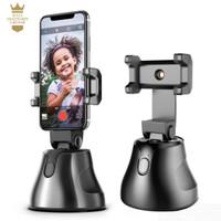 Robot Cameraman Smart Auto Tracking 360 Phone Holder Tripod